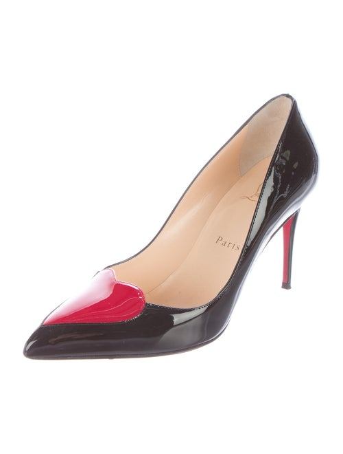 a70150634e Christian Louboutin Cora Heart Pumps - Shoes - CHT58035 | The RealReal