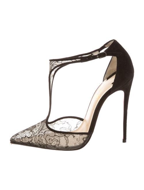 e661cad0631 Christian Louboutin Salonu 120 Lace Chantilly Pumps - Shoes ...