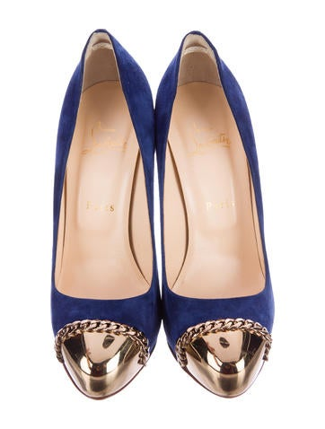 Metalipp 120 Cap-Toe Pumps