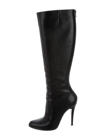 Christian Louboutin Bourge Knee-High Boots