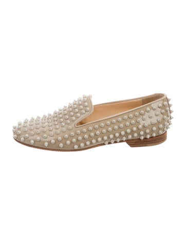 Christian Louboutin Rolling Spike Loafers