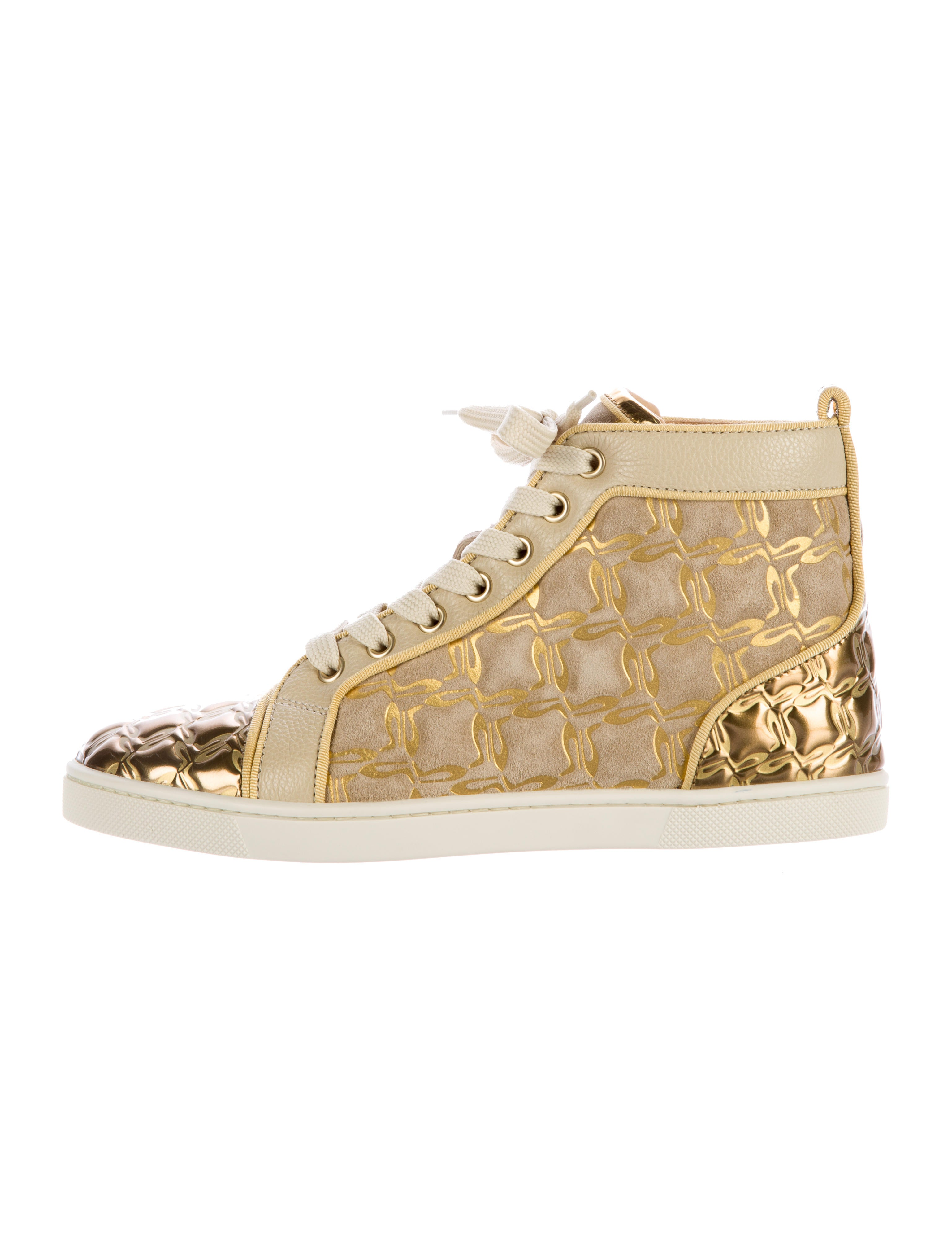 buy popular 3af9c 6caa9 Christian Louboutin Bip Bip High-Top Sneakers - Shoes ...