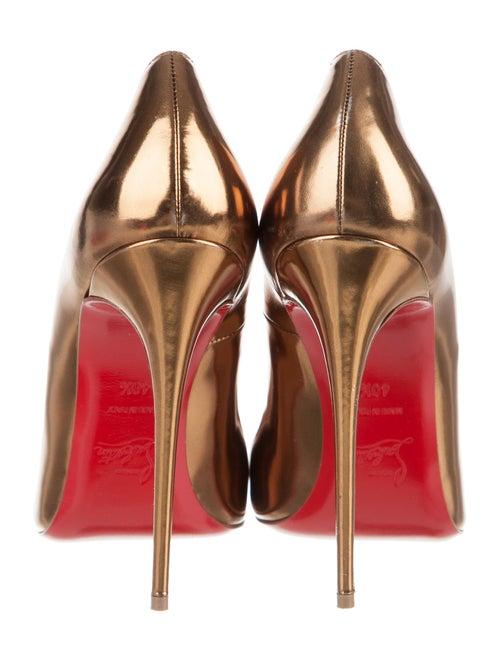 finest selection 0824c b6f28 Christian Louboutin Metallic So Kate Pumps - Shoes ...