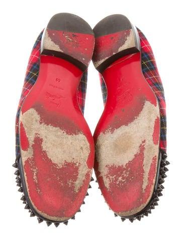 Tartan Harvanana Spikes Loafers
