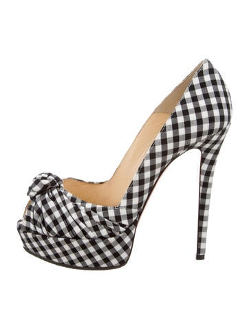 Gingham Greissimo 140 Pumps