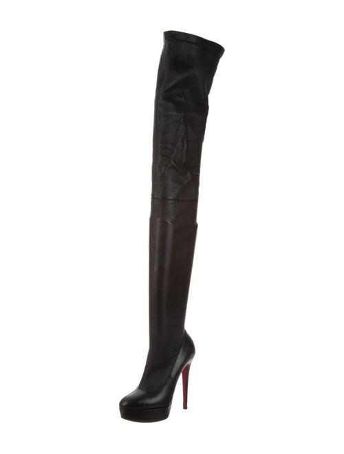 quality design 17cf9 f8dae Christian Louboutin Gazolina 140 Thigh-High Boots - Shoes ...