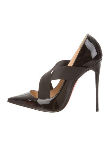 Christian Louboutin Sharpstagram Pointed-Toe Pumps
