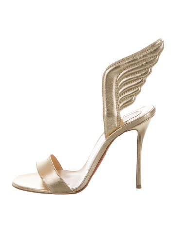 Metallic Samotresse 100 Sandals