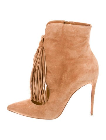 Christian Louboutin Suede Ottocarl Booties