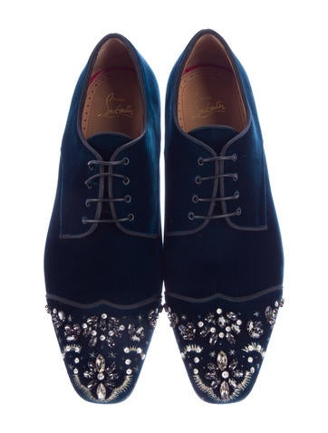 Odysee Velvet Derby Shoes w/ Tags