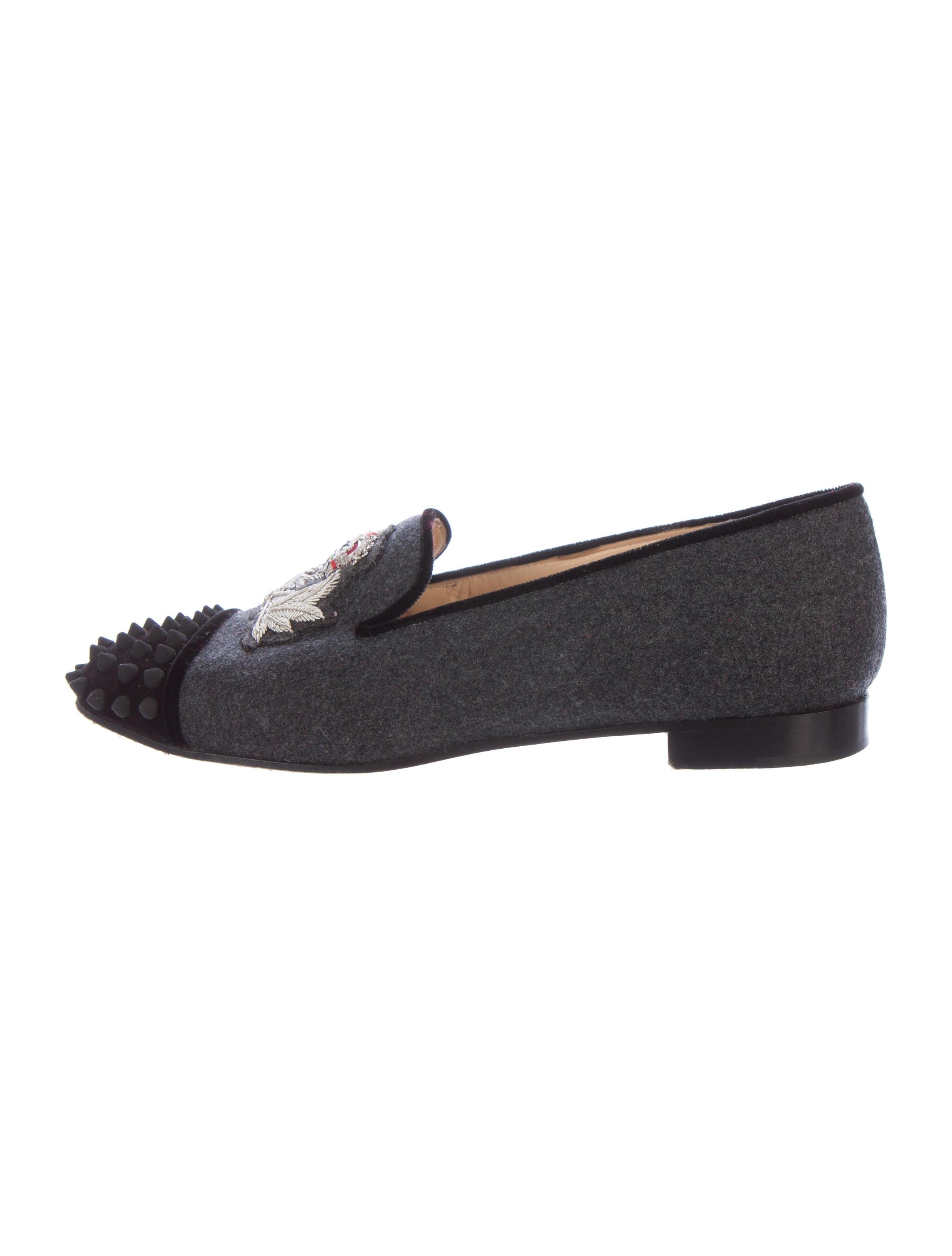 f7056e26cbf Christian Louboutin Intern Spiked Loafers - Shoes - CHT63517