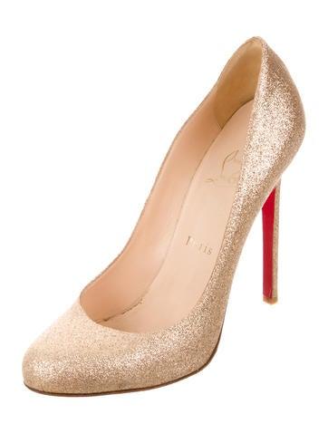 Glitter Lady Lynch Pumps