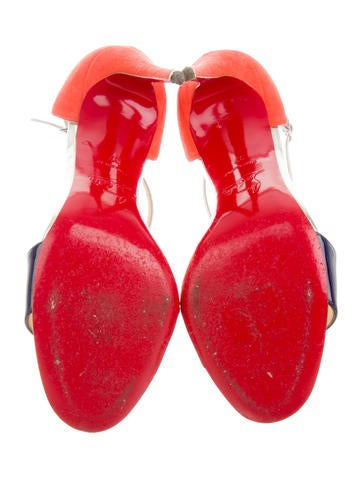 True Blue T-Strap Sandals