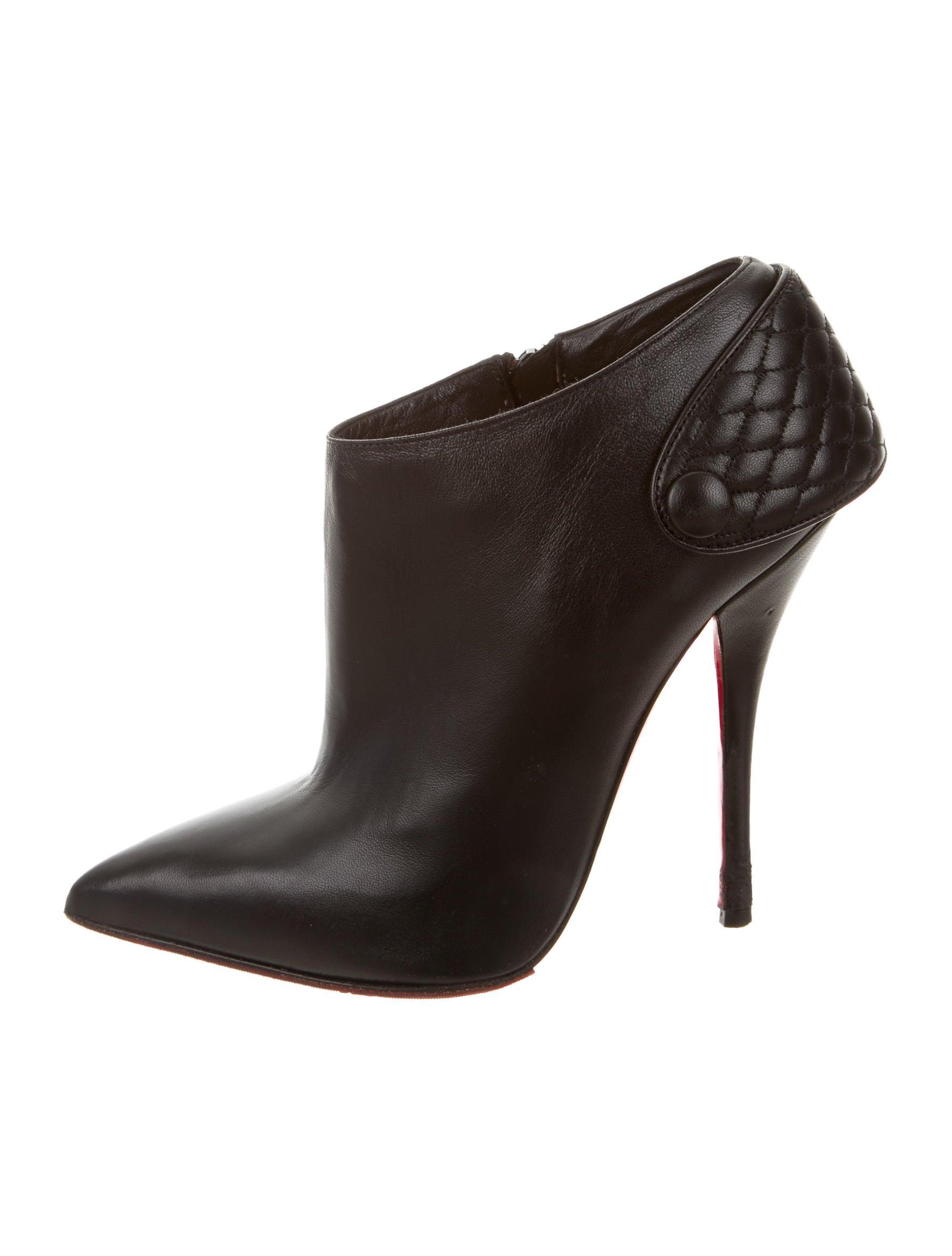 a61d3ff9ca89 ... greece women shoes christian louboutin quilted leather booties. quilted leather  booties db798 97ca6
