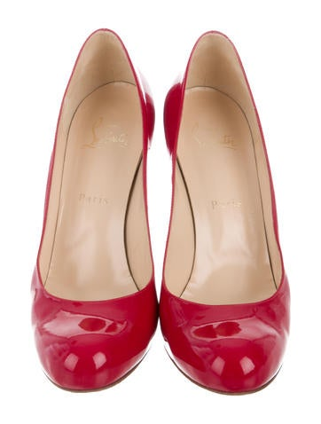 Patent Leather Simple Pumps
