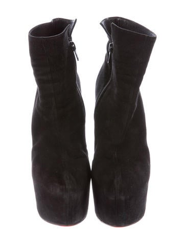 Fierce Platform Ankle Boots