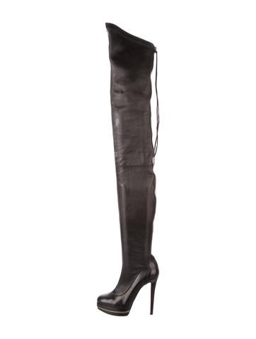 christian louboutin thigh high unique 140 boots shoes