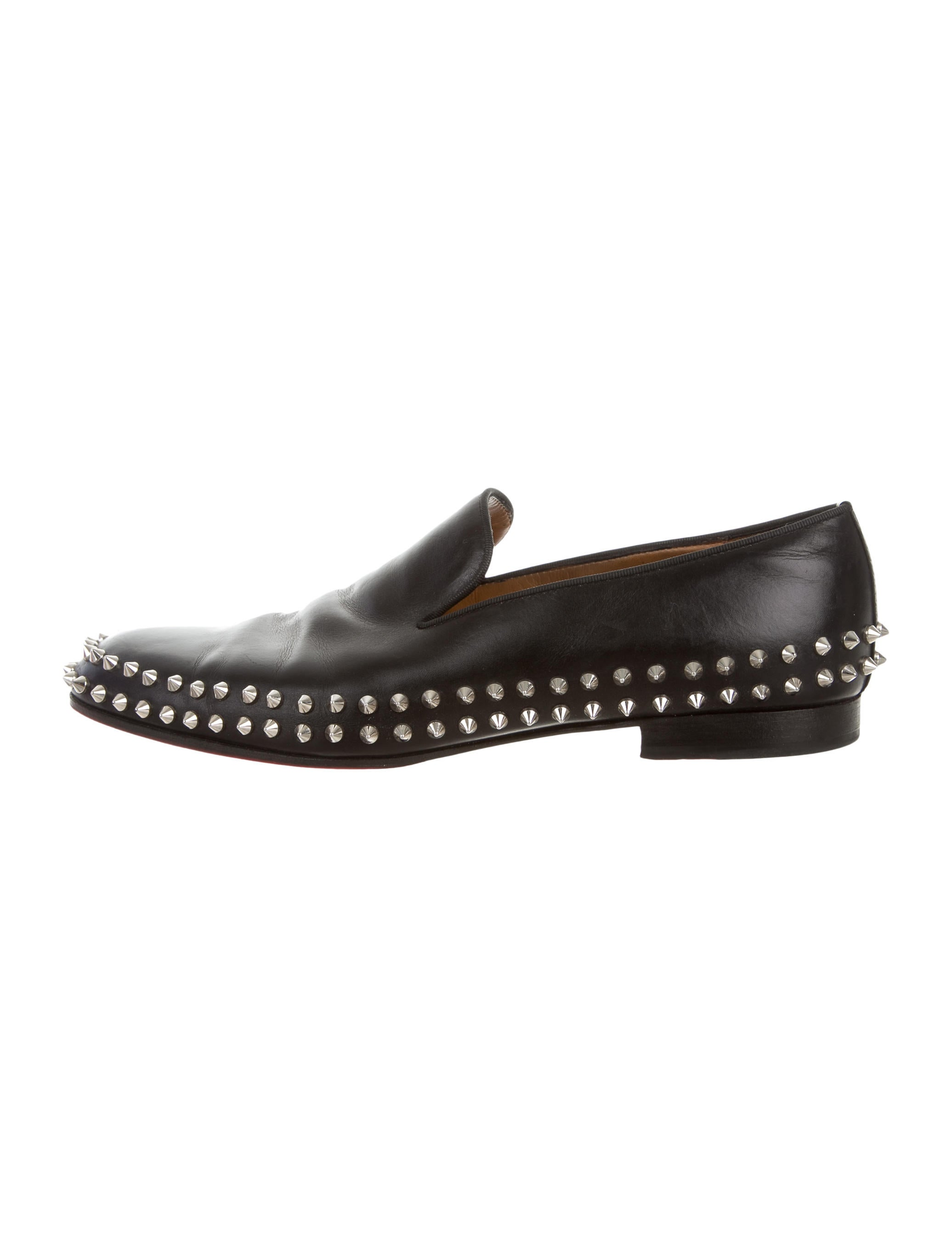 a52550bf738d Christian Louboutin Dandelion Spikes Flats - Shoes - CHT65936