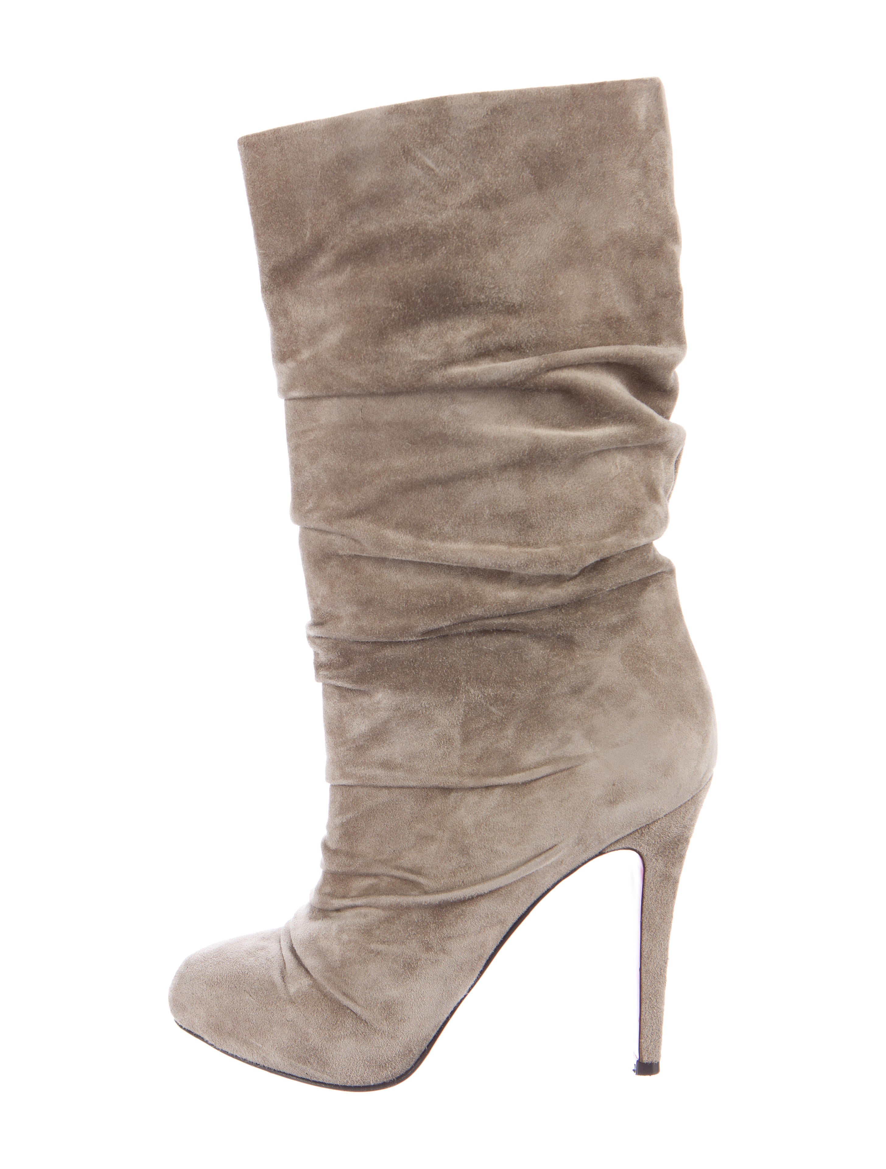 cheap online store discount wiki Christian Louboutin Suede Mid-Calf Boots visit sale online for cheap online cheap sale hot sale Zxz8Sr5lqz