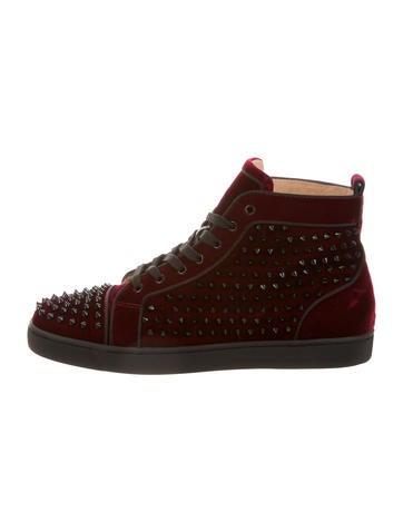 Christian Louboutin Louis Orlato Flat GG Spikes Sneakers ...