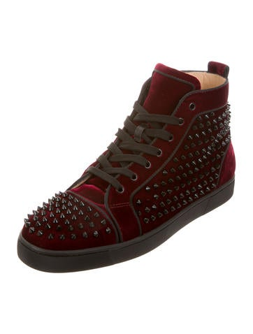 ... Christian Louboutin Louis Orlato Flat GG Spikes Sneakers