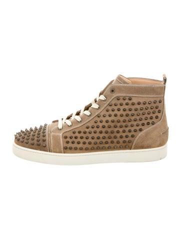 Christian Louboutin Louis Flat Crosta Spikes Sneakers ...