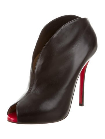 ... Christian Louboutin Chester Fille 120 Peep-Toe Booties