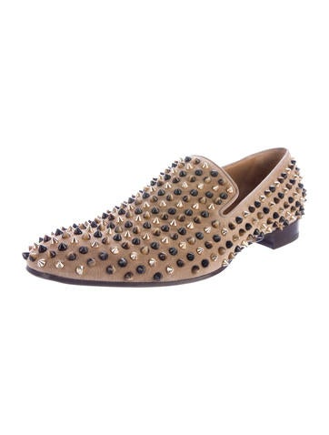 ... Christian Louboutin Dandelion Spike Flat Loafers w/ Tags