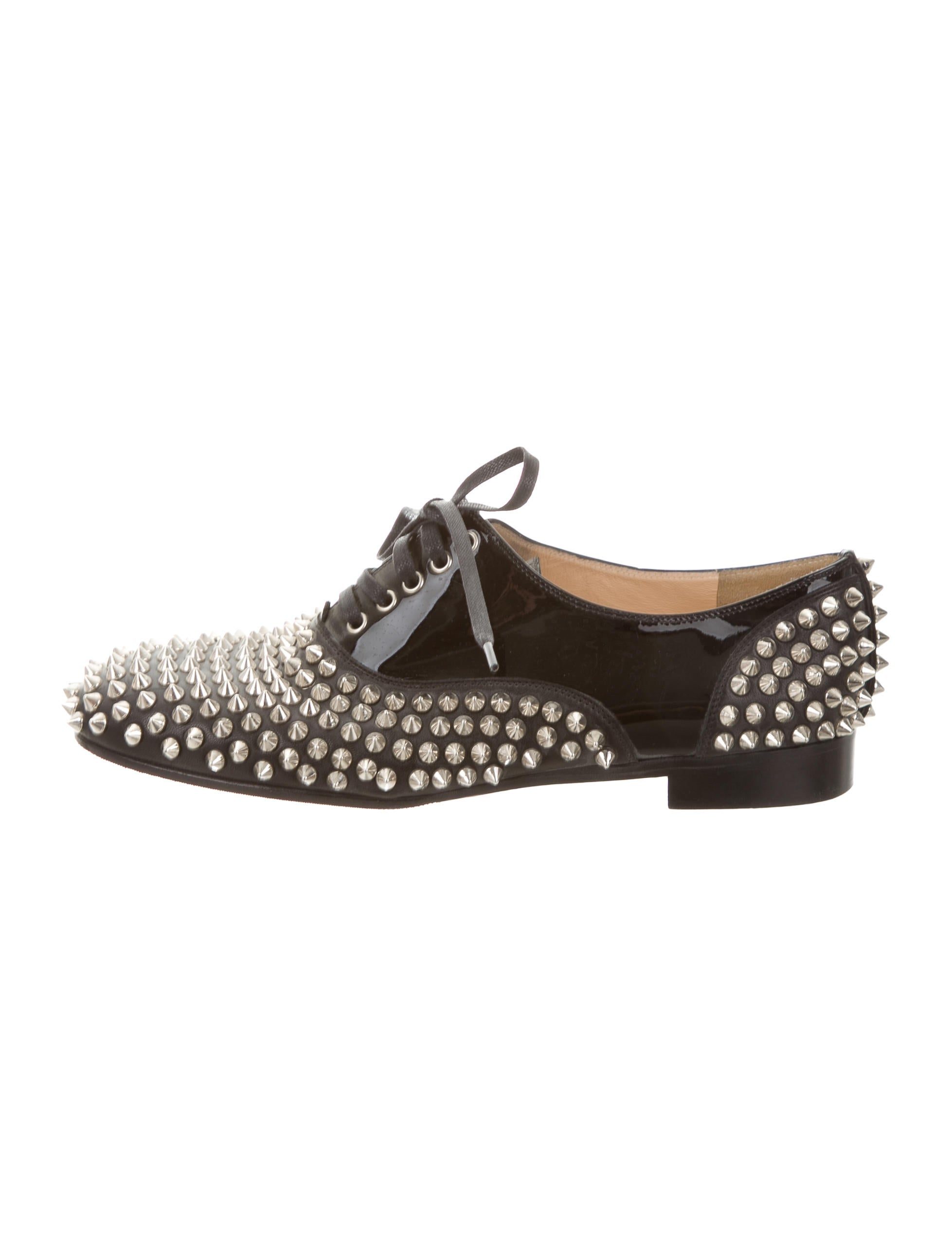 d55e9554b29f Christian Louboutin Freddy Spiked Oxfords - Shoes - CHT67353