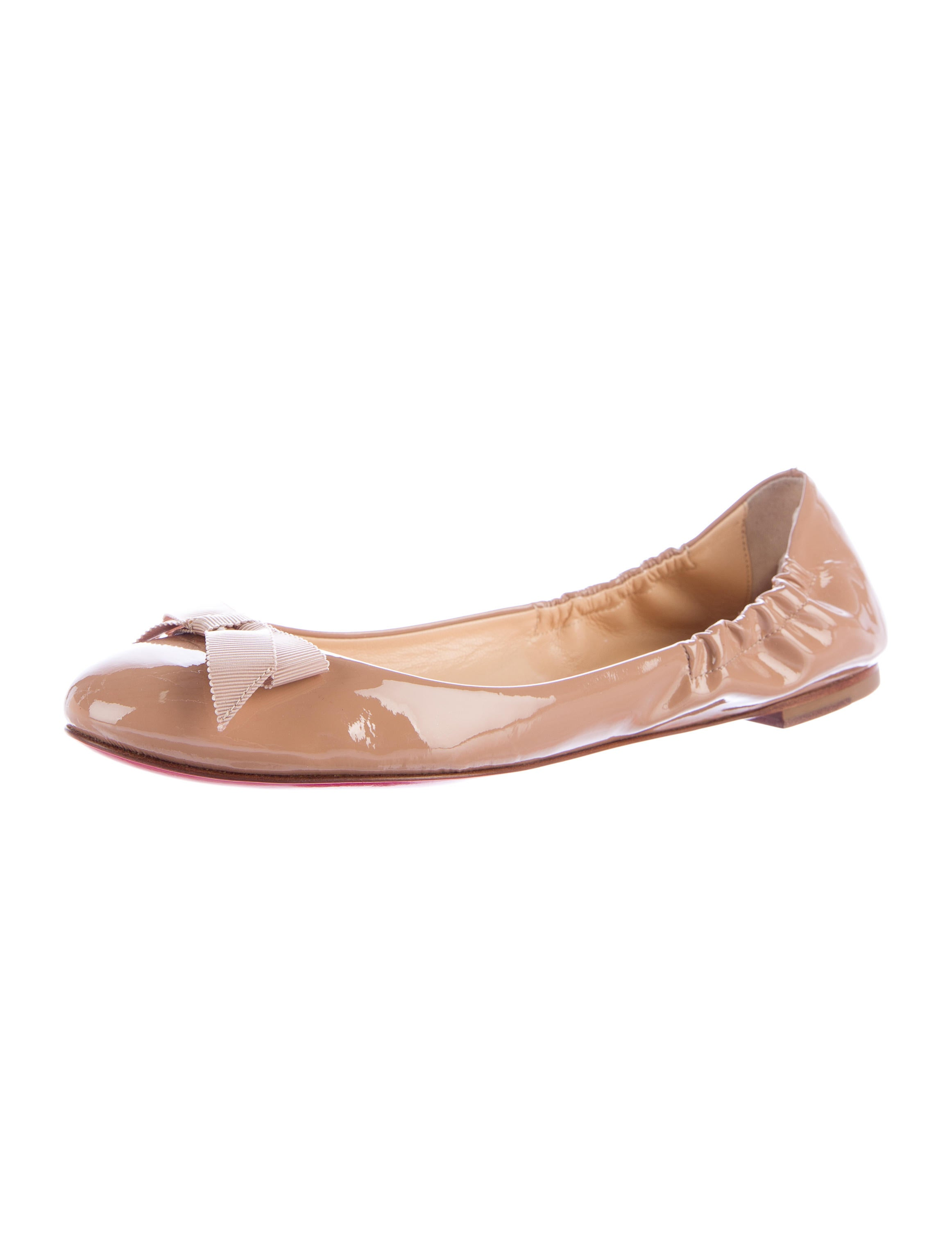 competitive price 81760 4e45d Christian Louboutin Gloriana Ballet Flats - Shoes - CHT67442 ...