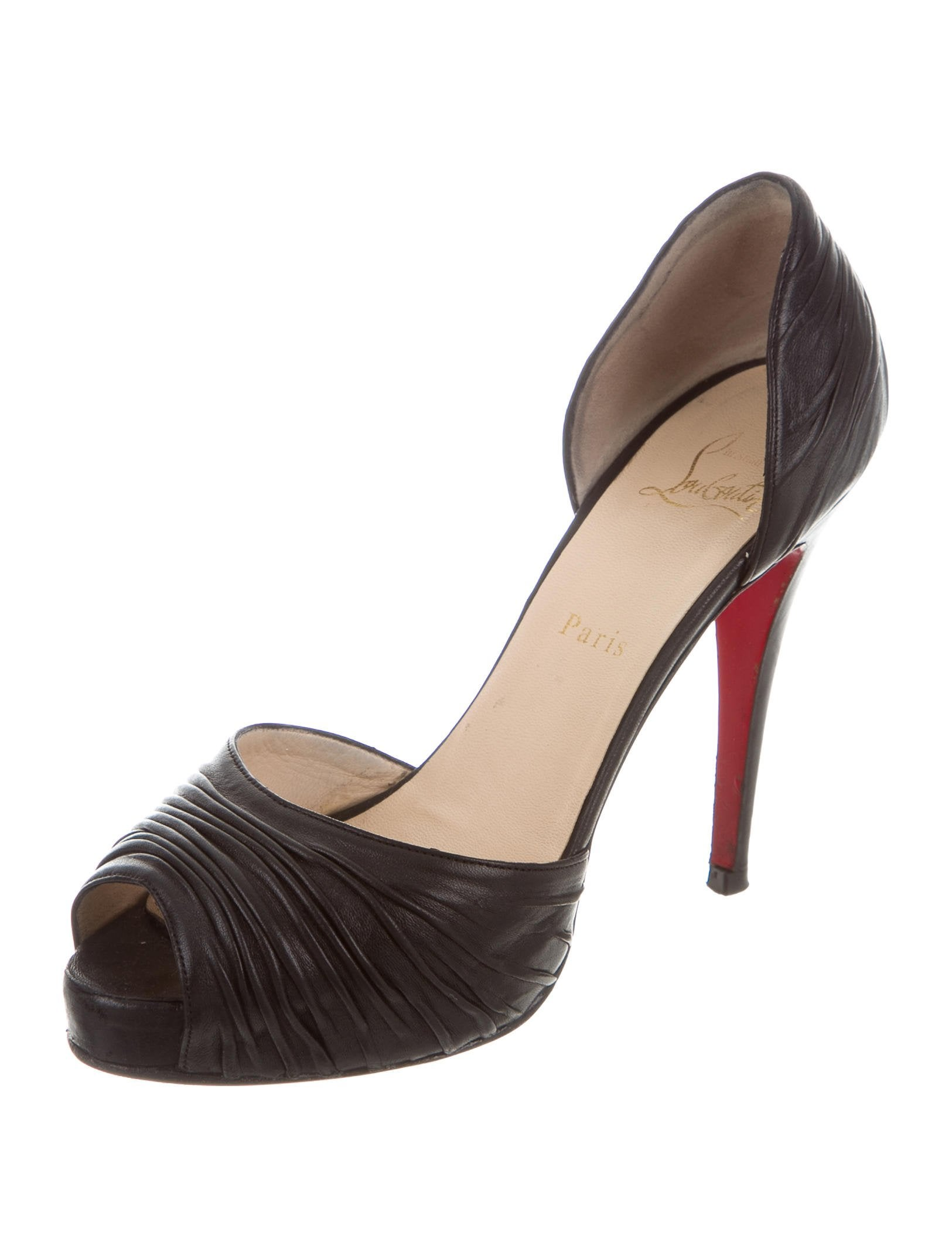 Christian Louboutin Turbella d'Orsay Pumps discount fake for sale top quality collections online wide range of for sale cheap sale extremely AUWieEm