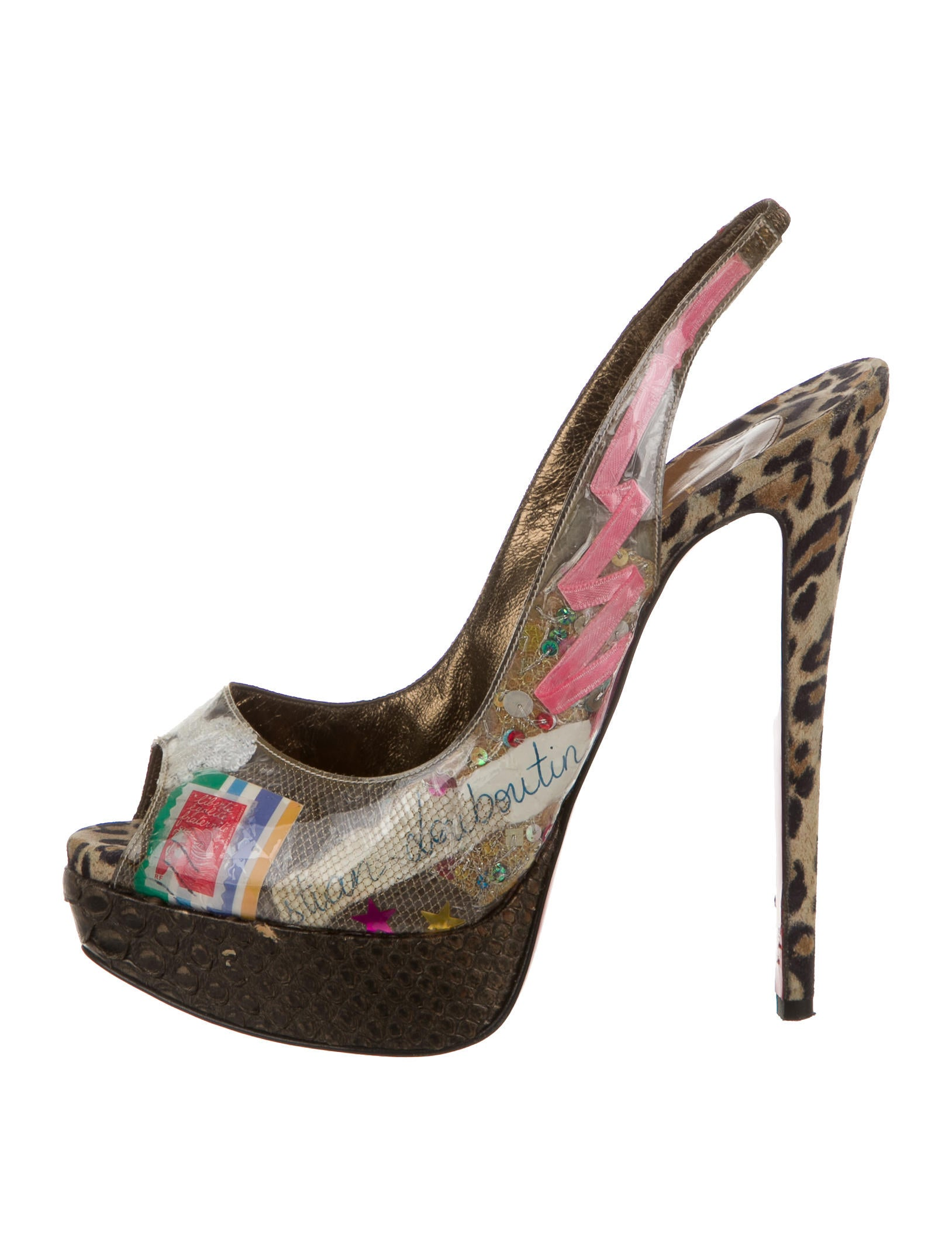 Christian Louboutin Slingbacks outlete