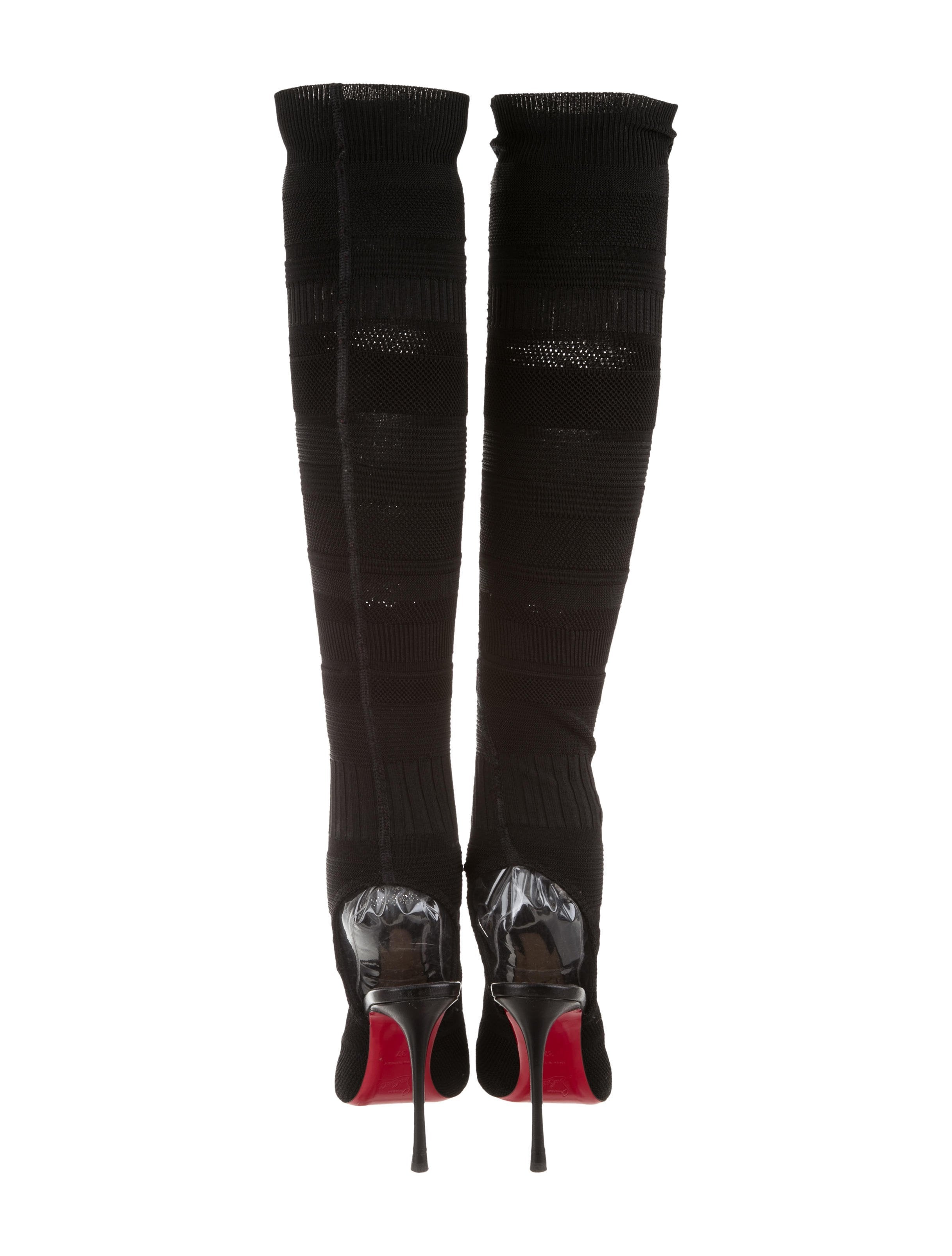 Christian Louboutin Kristy Over The Knee Boots Shoes