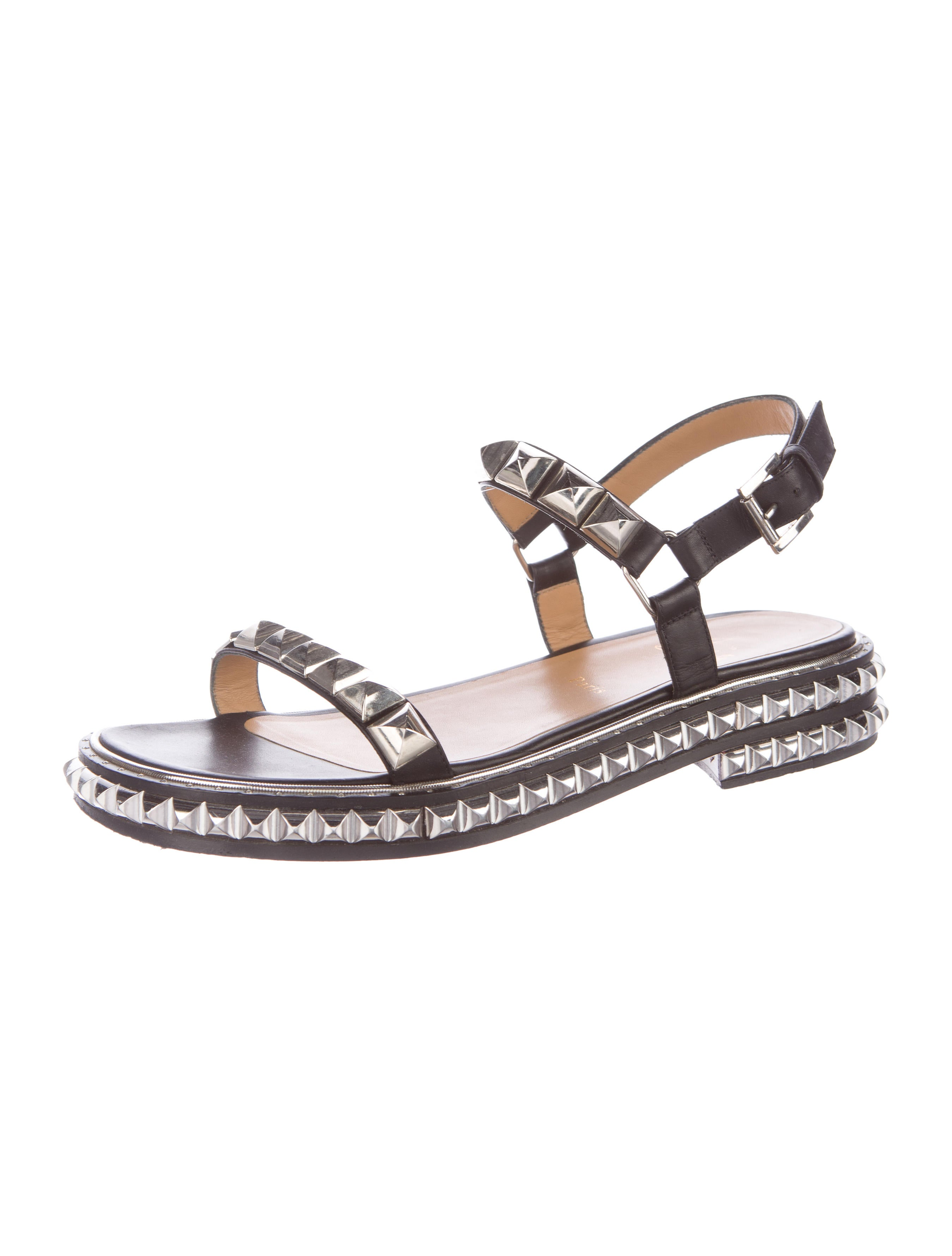 Christian Louboutin Studded Sandalovitch Sandals discount best seller 2015 for sale footaction qeVvY