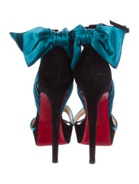classic fit 100dc f8e50 Christian Louboutin Vampanodo 140 Platform Sandals - Shoes ...