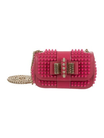 Christian Louboutin Sweety Charity Spiked Bag None