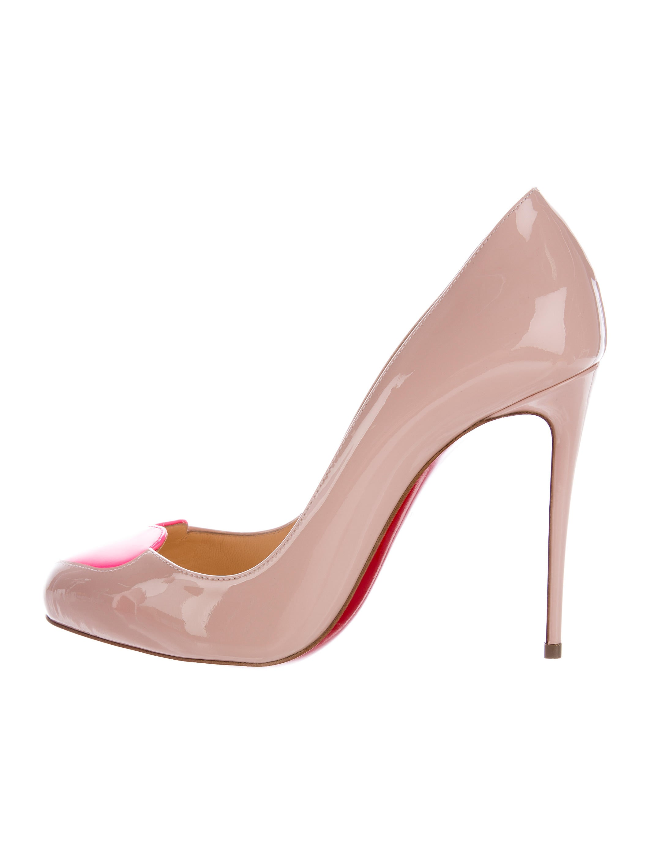 142dce8ce9d2 Christian Louboutin Doracora Heart Pumps - Shoes - CHT73371