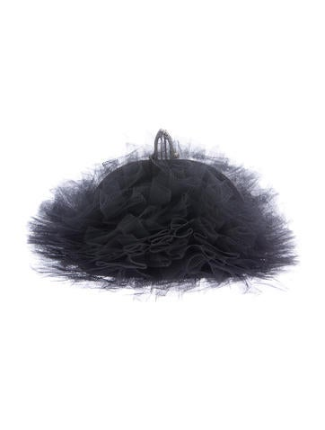 Christian Louboutin Embellished Tutulle Clutch None