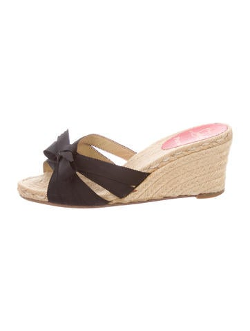 Christian Louboutin Miss Boxie Wedges None
