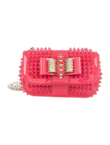 Christian Louboutin Spiked Sweet Charity Bag None