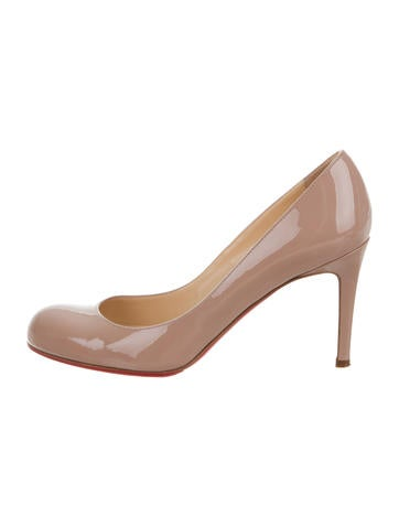 Christian Louboutin Patent Leather Simple Pumps None