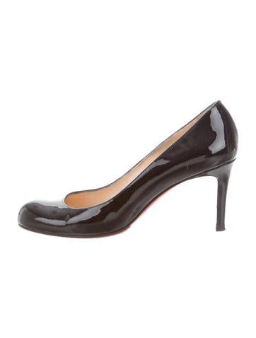 Christian Louboutin Simple Round-Toe Pumps None