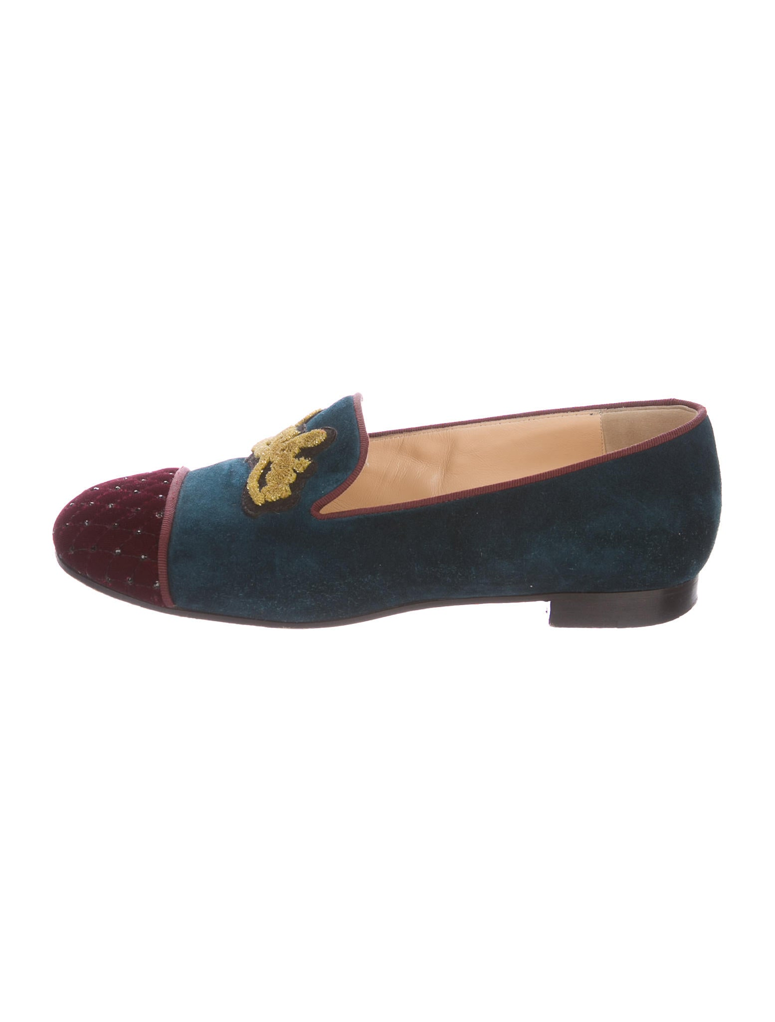 30861ab5603c Christian Louboutin My Love Cap-Toe Loafers - Shoes - CHT75639
