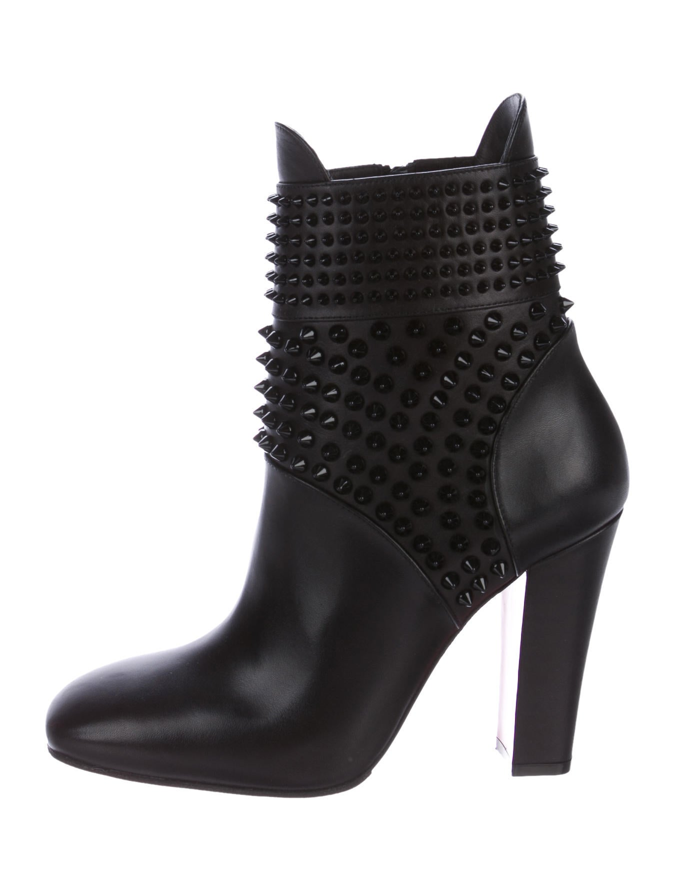 ddd8bd5d50ae2 Christian Louboutin Praguoise Studded Boots - Shoes - CHT76081 | The ...