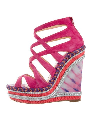 Christian Louboutin Platform Tosca Wedges None