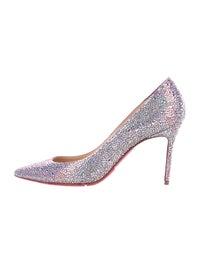 low priced 6f74c 6d0d3 Christian Louboutin Decollete 554 Strass Pumps - Shoes ...