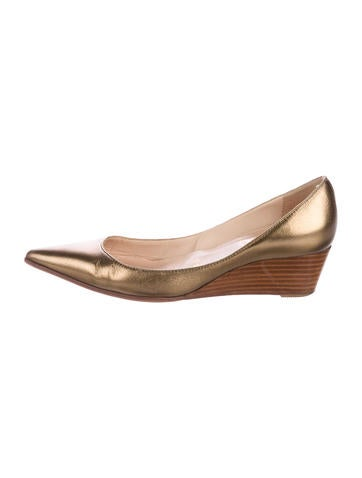 Christian Louboutin L'evidence Wedge Pumps None