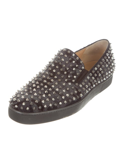 save off b9cd5 b0595 Christian Louboutin Mortimer X Sole Flat Sneakers - Shoes ...