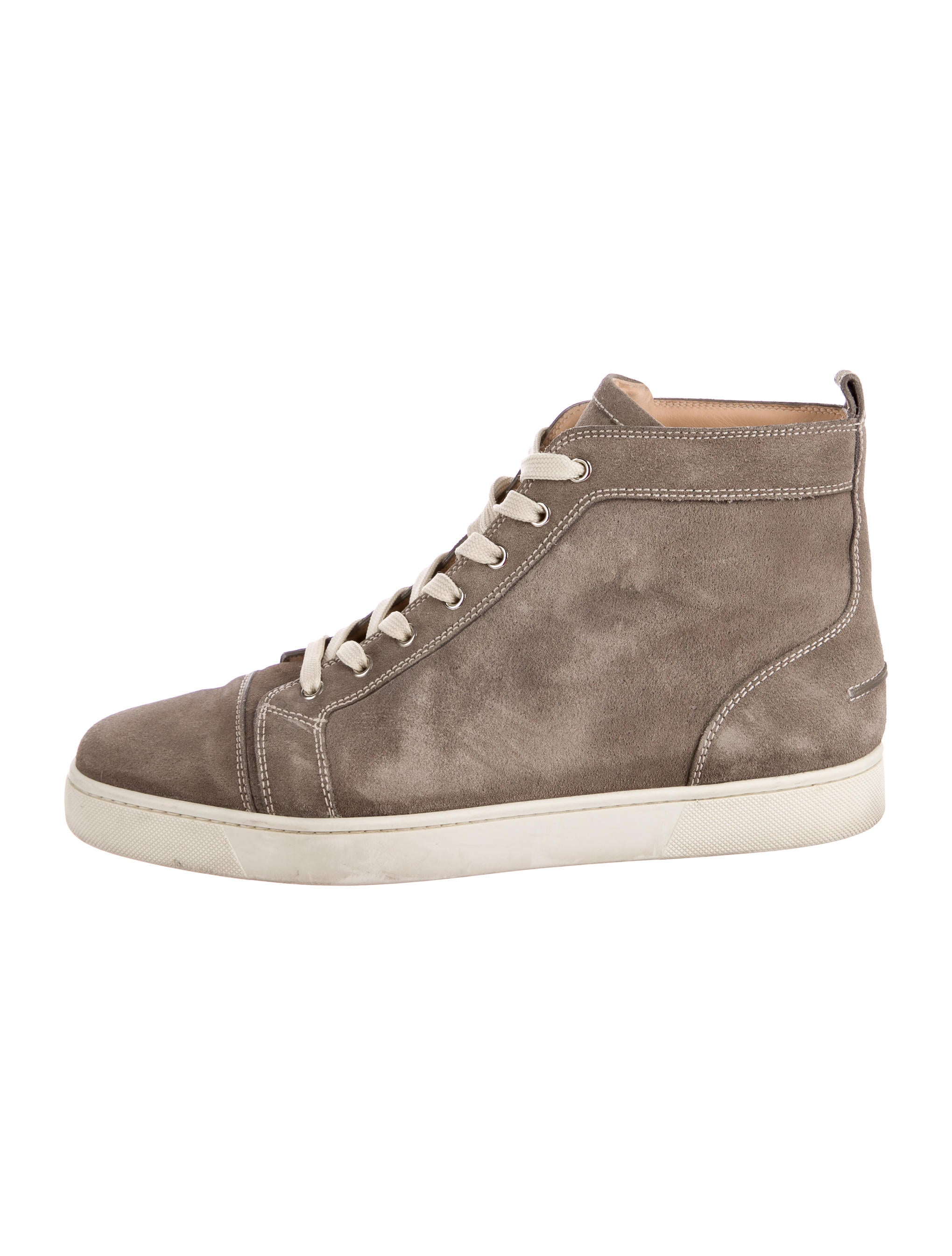 brand new f2275 50f17 Christian Louboutin Bip Bip Suede Sneakers - Shoes ...