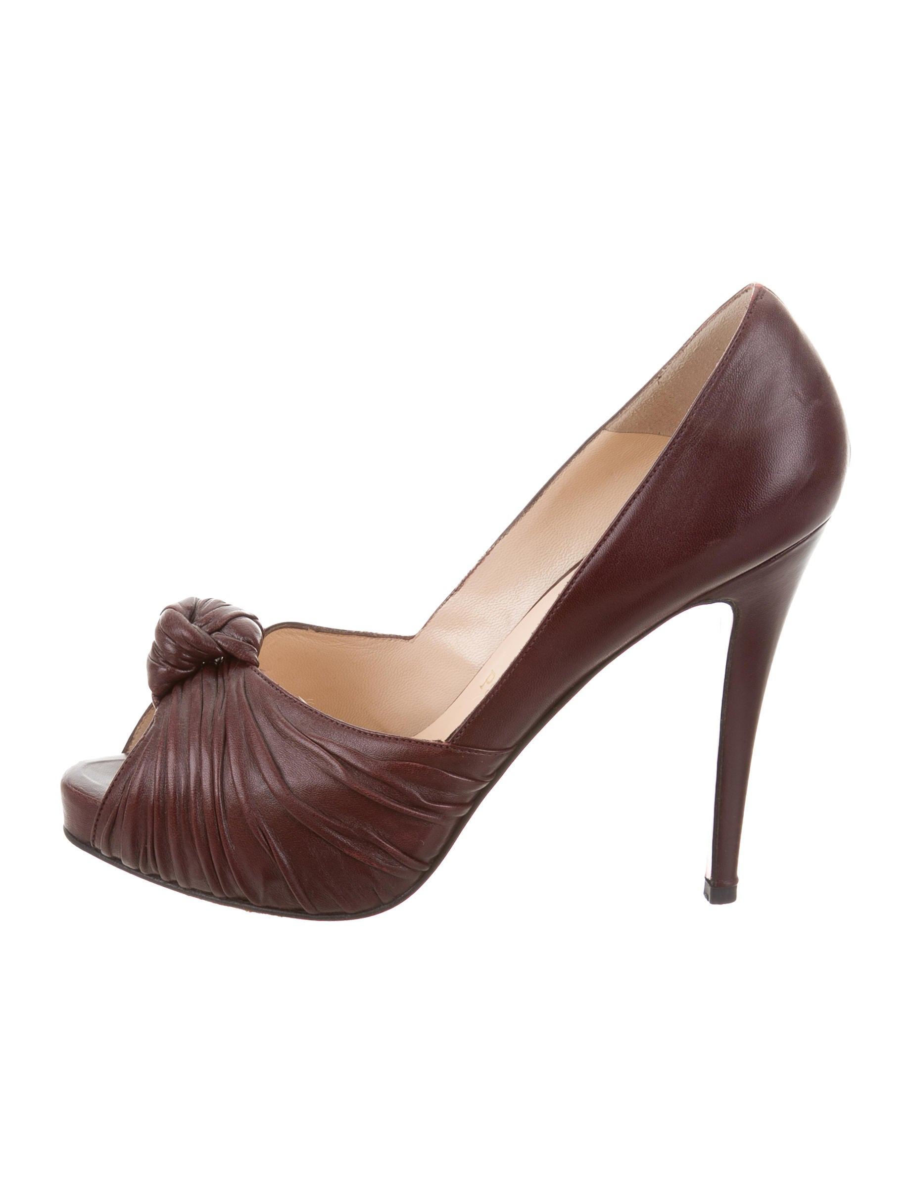 buy cheap pictures Christian Louboutin Gres's Peep-Toe Pumps discount best place 2014 new sale online sale finishline buy cheap wholesale price iBj9J9W86